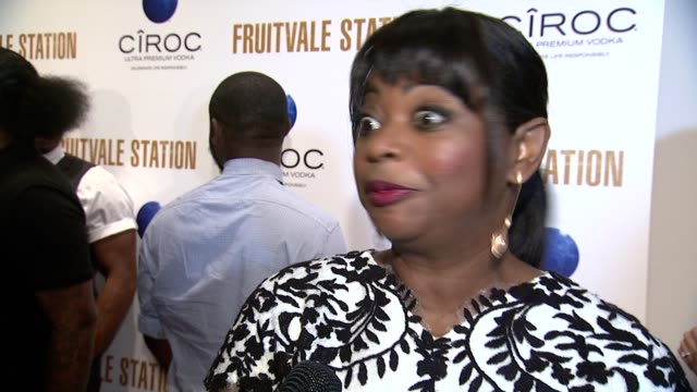 interview octavia spencer on how she got on board the project the project resonated with her as a human being mentions the trayvon martin case that... - ryan coogler stock videos and b-roll footage