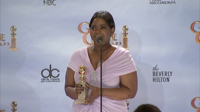 Octavia Spencer on living the dream at 69th Annual Golden Globe Awards Press Room on 1/15/2012 in Beverly Hills CA
