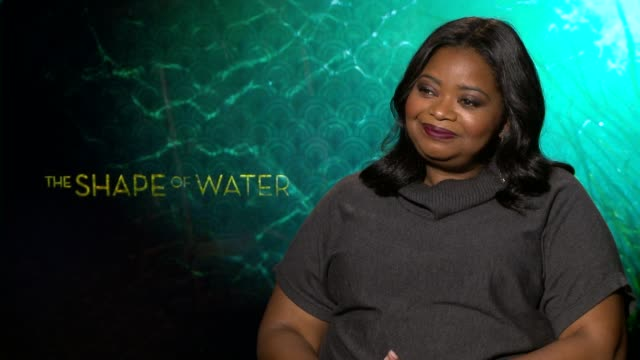 INTERVIEW Octavia Spencer on the script the relevance of the film understanding differences her character communication at the 'The Shape of Water'...