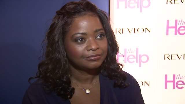 Octavia Spencer on the success of the movie on her character and what to expect from the movie at the The Help UK Premiere at London England