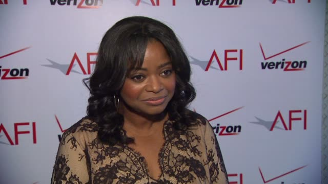 Octavia Spencer on what it was like working with Tate Taylor the collaborative process between her and her costars her favorite scene and on the AFI...