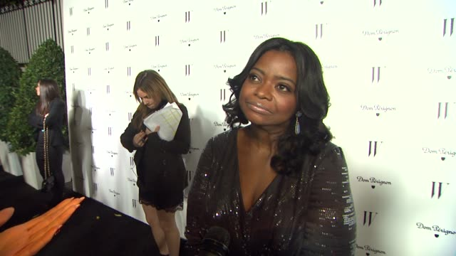 Octavia Spencer on what she thinks about her picture in the issue the vibe on the set of the W shoot how she is feeling going into the Golden Globes...