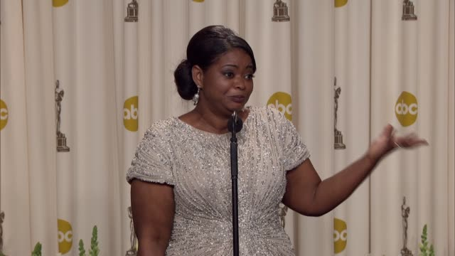 Octavia Spencer says what is the one role she wants to play at 84th Annual Academy Awards Press Room on 2/26/12 in Hollywood CA