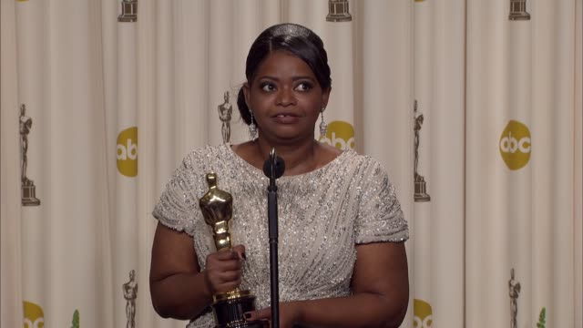 Octavia Spencer talks about the film not having a more tragic end at 84th Annual Academy Awards Press Room on 2/26/12 in Hollywood CA