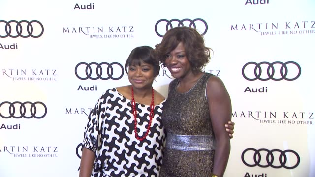 Octavia Spencer Viola Davis at the Audi And Martin Katz Celebrate The 2012 Golden Globe Awards in West Hollywood CA