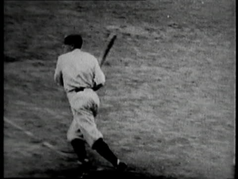 vídeos de stock, filmes e b-roll de october 10 1923 montage 1923 world series baseball game between the new york yankees and the new york giants / new york new york united states - 1923