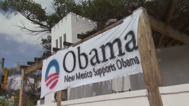 October 14 2008 ZI Banner supporting Obama / New Mexico
