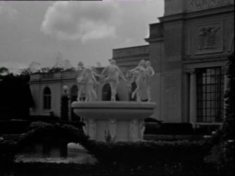 october 1936 b/w montage gran casino nacional at marianao / havana cuba - havana stock videos & royalty-free footage