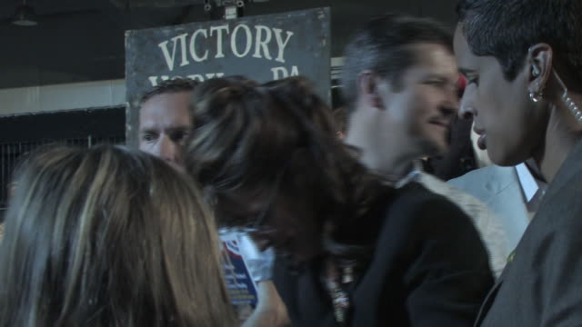 october 2009 ms republican vicepresidential candidate sarah palin with her husband todd palin greeting supporters and signing autographs during... - mature couple stock videos & royalty-free footage