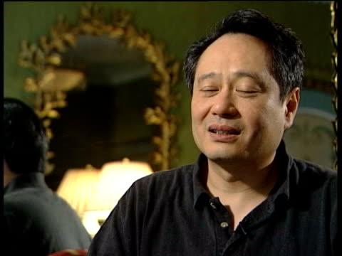 October In 1954 film director Ang Lee was born London INT Film director Ang Lee interview
