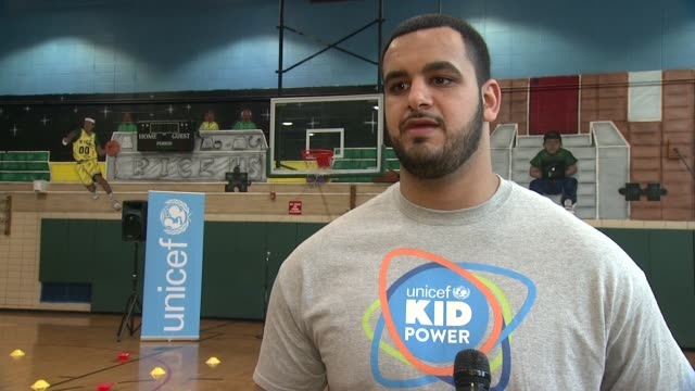 INTERVIEW Oday Aboushi says that participating in this event teaches children that they can make a difference even at their young age tells children...
