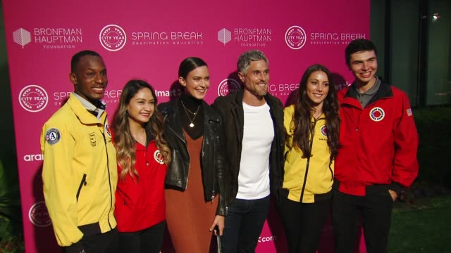 Odette Annable and Dave Annable at the City Year Los Angeles' Spring Break Destination Education on May 04 2019 in Culver City California