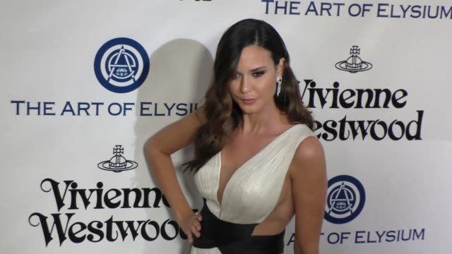 Odette Annable at The Art of Elysium's 9th Annual HEAVEN Gala at 3LABS in Culver City at Celebrity Sightings in Los Angeles on January 09 2016 in Los...
