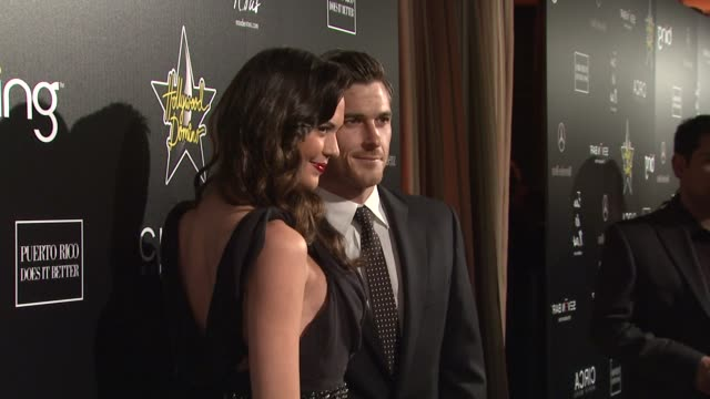 Odette Yustman Dave Annable at the 4th Annual Hollywood Domino Gala at West Hollywood CA