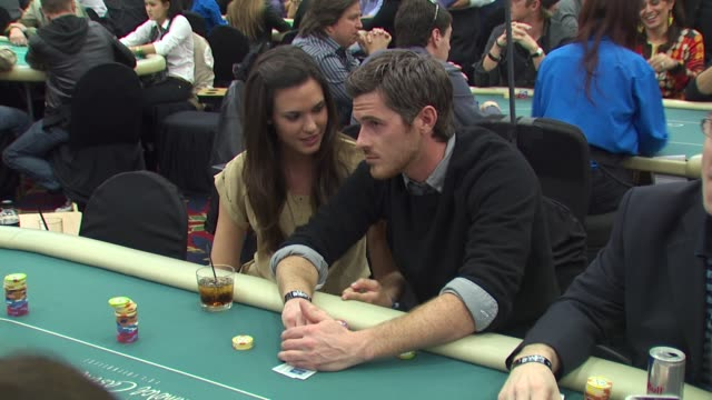 Odette Yustman Dave Annable at the 8th Annual WPT Invitational at City of Commerce CA