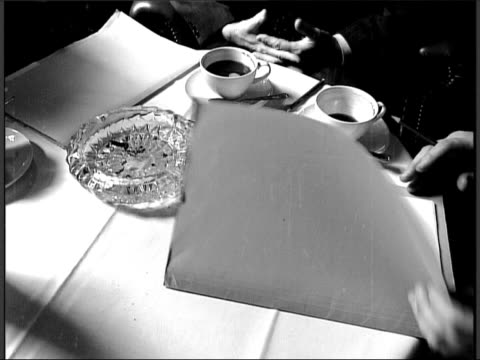 reconstruction of a day in december 1953 when the chief executive of a tobacco company philip morris met with other tobacco companies and a public... - time of day stock videos and b-roll footage
