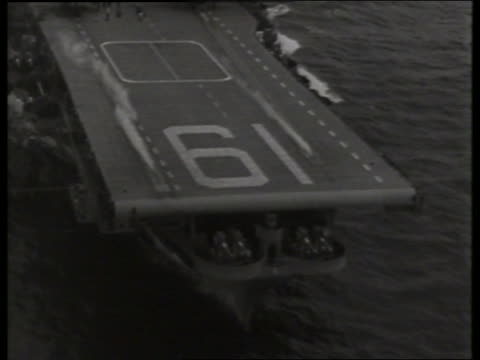 of airplane taking off from aircraft carrier / no sound - aircraft carrier stock videos & royalty-free footage