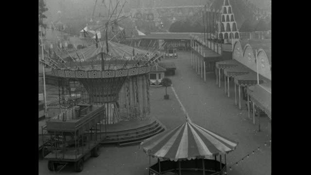 has of battersea park fun fair closing down; 1953 - 1953 stock videos & royalty-free footage