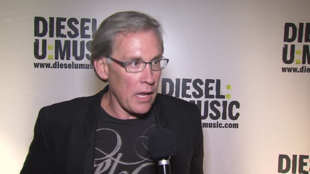 ceo of diesel us steve birkhold on diesel supporting new artists at the the 2009 dieselumusic tour hits nyc at new york ny - popular music tour stock videos & royalty-free footage