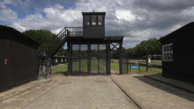 stockshots of former nazi concentration camp stutthof now in poland a hamburg court is set to deliver its verdict in the trial of a former ss soldier... - former stock videos & royalty-free footage