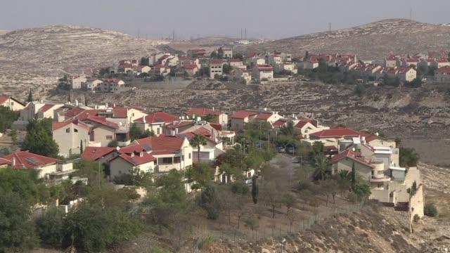 stockvideo's en b-roll-footage met stockshots of israeli settlements around east jerusalem - oost jeruzalem