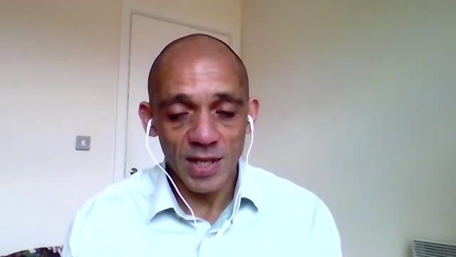 """of kick it out, tony burnett, saying coronavirus lockdown has """"masked"""" racism being a problem a wider problem in society - professional occupation stock videos & royalty-free footage"""