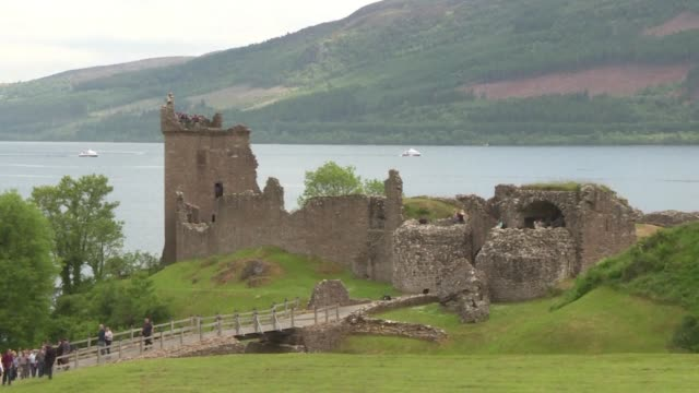 of loch ness and inverness in scotland - inverness scotland stock videos & royalty-free footage