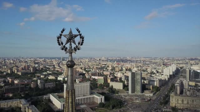 of moscow: from ancient churches to modern skyscrapers - moscow russia stock videos & royalty-free footage