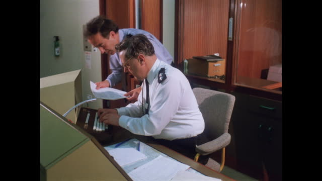 1981 - hq of nottinghamshire constabulary - police force stock videos & royalty-free footage