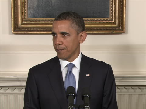 sot of president obama on the futility of the republicanled house of representatives passing a bill to solve the debt crisis that the senate would... - refraction stock videos & royalty-free footage