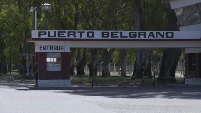 STOCKSHOTS of Puerto Belgrano navy base in Argentina