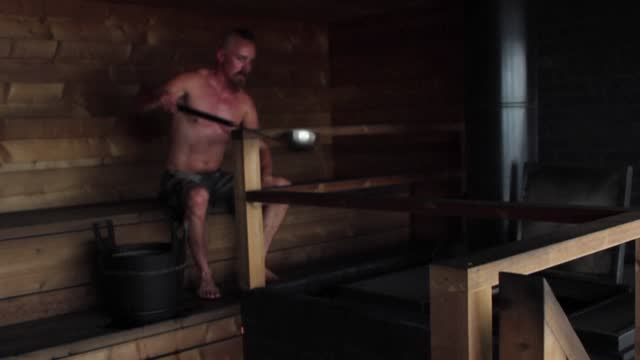 of sauna places in finland as the finns penchant for relaxing in blazin hot steam-filled rooms is put on the un's list of the world's intangible... - sauna stock videos & royalty-free footage