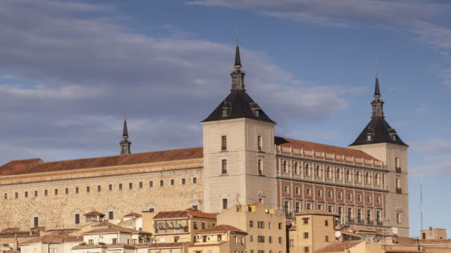 zo tl of the alcazar of toledo, spain. - philip ii of spain stock videos and b-roll footage