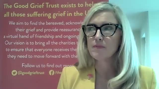 of the good grief trust, linda magistris, discusses coping with grief in the run up to christmas and ahead of national grief awareness week on 2-8... - https stock videos & royalty-free footage