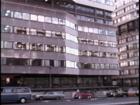 of the watergate office building. the watergate incident is a political scandal resulting from the break-in of the democratic national committee... - resignation of richard nixon stock videos & royalty-free footage
