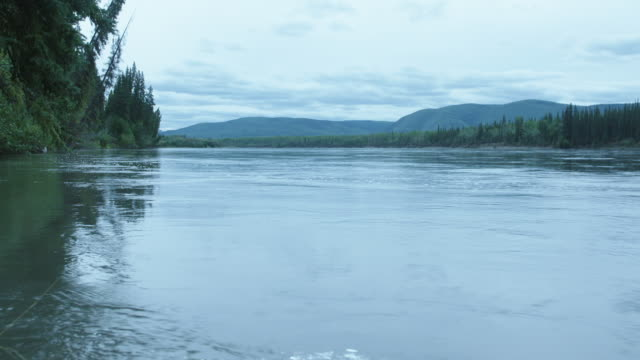 LOW ANGLE of the Yukon River