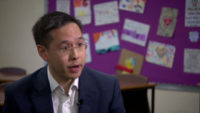 ofcom stategy and research director yihchoung saying more parents are concerned about their children going online - telecommunications equipment stock videos & royalty-free footage