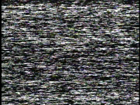 off air tv static, snow, white noise, hiss audio - grainy stock videos & royalty-free footage