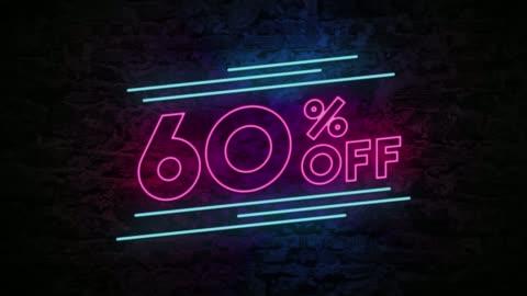 60% rabatt på neonskylt tegel bakgrund 4k-animering - rea bildbanksvideor och videomaterial från bakom kulisserna
