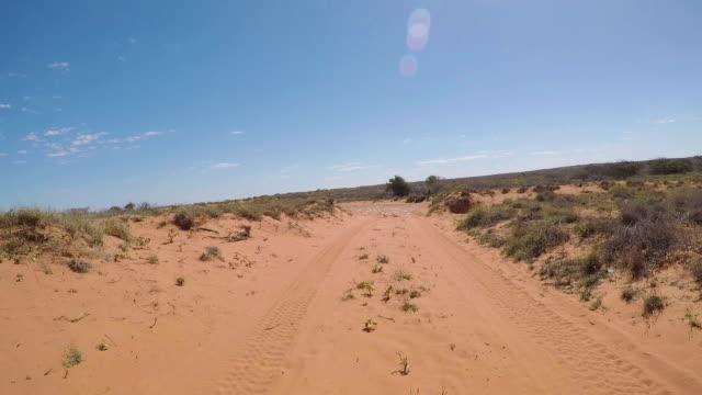 off road driving through the outback. - cape coral stock videos & royalty-free footage