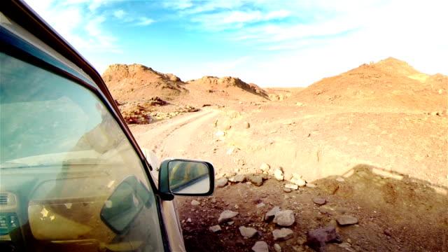 Off road in desert in Africa.