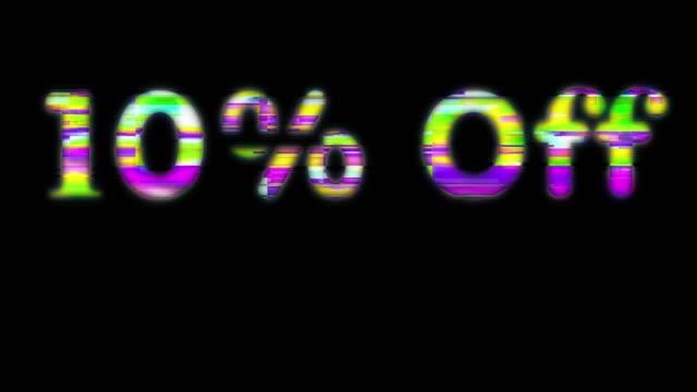 vídeos y material grabado en eventos de stock de 70% fuera de las palabras de línea de escaneo - número 10