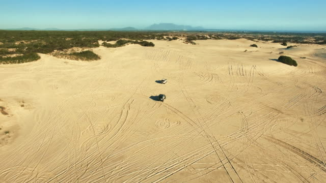 off the grid adventures - namibian desert stock videos and b-roll footage
