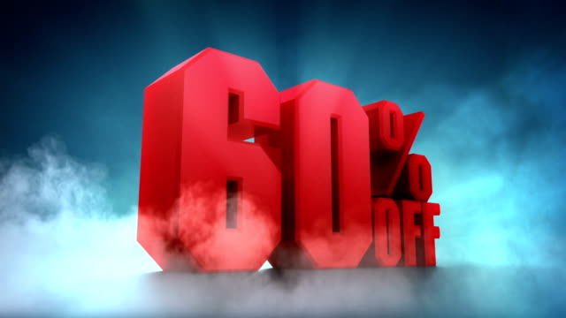 50%, 60%, 70%, 80%, 90% off - off stock videos & royalty-free footage