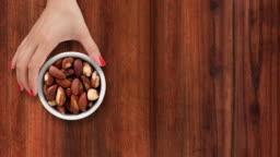 Offering brazil nuts