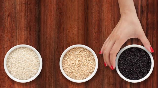 rices 提供 - 玄米点の映像素材/bロール
