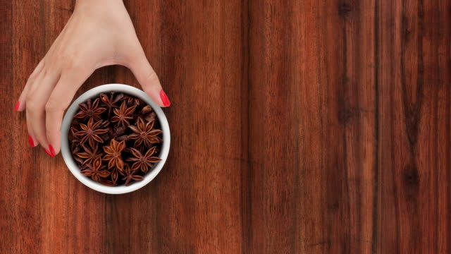 offering star anise - star anise stock videos and b-roll footage