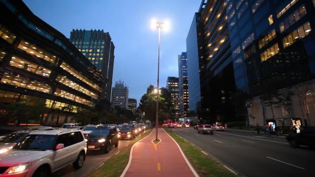 Office building at Faria Lima Avenue, Sao Paulo, Brazil