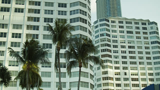office building in miami - miami dade county stock videos & royalty-free footage