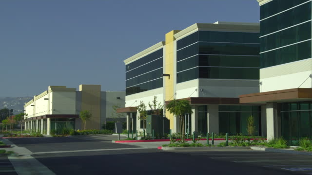 ws office buildings, camarillo, california, usa - camarillo stock videos & royalty-free footage